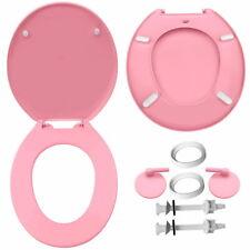 WENKO WC-Sitz Klobrille Toilettensitz WC Brille Klodeckel Toilettendeckel Rosa