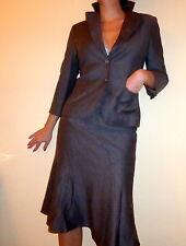 Luxus Marken Anzug,Rock,Blazer*NEXT*beige braun Wolle,XS,S,34,36-stylish