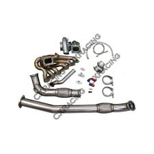 Turbo Kit For 2JZGTE 2JZ Swap 240SX S13 S14 Single T72 Turbo Manifold Downpipe