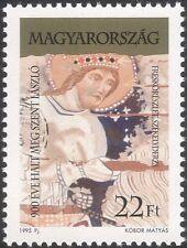 UNGHERIA 1995 ST LADISLAS/Santi/Religione/ROYALTY/Persone/ARTE/PITTURA 1v (n45798)