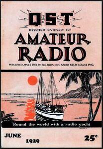 QST Amateur Radio Magazine Collection 188 Issues USB Flash Drive