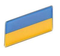 Ukraine Aufkleber Sticker Flagge Auto Metall swe selbstklebend KFZ 3D Tuning
