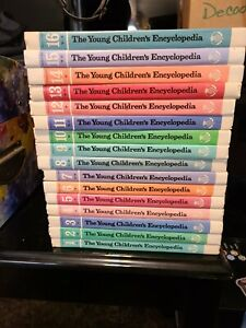 1977 The Young Childen's Encyclopedia Set