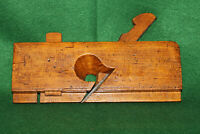 "Antique Vintage J. Kellogg 3/8"" Wood Stop Dado Set Screw Moulding Plane Inv#EB61"