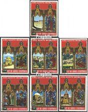 Äquatorialguinea 527-533 gestempeld 1975 Pasen: Bouwen in Jeruzalem