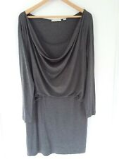 Country Road Womens Size L 14 16 Dress Knit Grey Long Sleeve As New