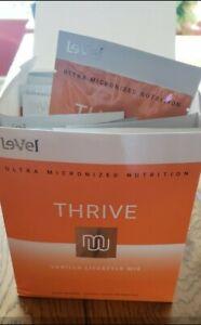 New THRIVE Le-Vel Premium LIFESTYLE MIX Shakes 16 PACKETS Vanilla