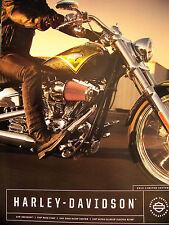 2013 HARLEY-DAVIDSON CVO MOTORCYCLES BROCHURE -FXSBSE-FLHRSE5-FLTRXSE2-FLHTCUSE8