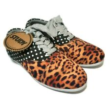 Urban Outfitters Study Sneakers Leopard/Polka Dot Drop Print Women's Size US 9 M