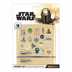 Star Wars The Mandalorian Magnet Set