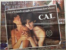 CAL Original British Movie Quad Poster 1984 Helen Mirren John Lynch