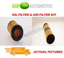 DIESEL SERVICE KIT OIL AIR FILTER FOR MERCEDES-BENZ C220 2.2 150 BHP 2003-07