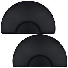 "Open Box - 3' x 5' Semi Circle Anti-Fatigue Salon Floor Mat 1/2"" Thick - 2 Pack"
