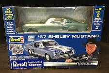 REVEL 1967 FORD SHELBY MUSTANG GT500 FASTBACK MODEL KIT 1/25