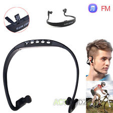 Wireless TF/SD Card Handfree Headset Stereo Sport Headphone Earphone Universal