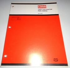 Case 1300T Cultivator Parts Catalog Manual book Original! 12/79