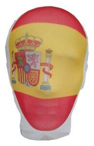 Spain Flag Mask- Football- La Furia Roja- Rojigualda- Bandera de España máscara