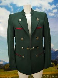 Traditionell Trachtentrikot neuwertig Janker grün Trachtenjacke Jacke Gr.98 / 50
