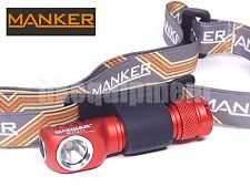 MANKER E02H Nichia 219 AAA LED Magnetic Cap Pocket Clip Headlight Red