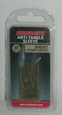Starbaits: anti-tangle sleeve / short Muddy brown boîte de 30 pièces