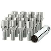 8x Excalibur 98-0376XL Lug Bolts 12x1.25 7-Point Tuner//Spline Chrome 33mm
