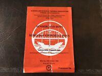 SUNDERLAND BOYS V KINGSTON UPON HULL BOYS  SCHOOLS SEMI FINAL ROKER PARK 1990