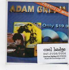 (FN99) Adam Green, Friends Of Mine - 2004 DJ CD