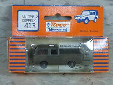 Roco Minitanks / Herpa (NEW) Modern West German VW Double Cabin Truck  Lot 1661