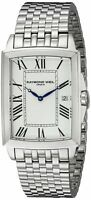 Raymond Weil Men's 5597-ST-00300 Tradition Analog Display Swiss Quartz Silver...