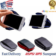 Universal Car Anti-slip Phone GPS Clip Holder Dashboard Stand For Cellphone USPS
