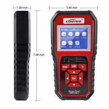 Car Engine Fault Code Reader KW850 OBDII OBD2 EOBD Diagnostic Scanner With Bag