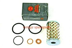 For Royal Enfield Oil Filter+Washer Kit 500EFI Classic C5 B5 > Continental 535