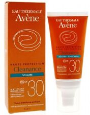 AVENE CLEANANCE SOLAIRE SPF30 FACE SUNSCREEN MAT RESULT ACNE PRONE SKIN 50ml
