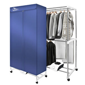 Portable Electric Clothes Dryer Indoor Dorms Buddy Best Hot Air Machine Wardrobe
