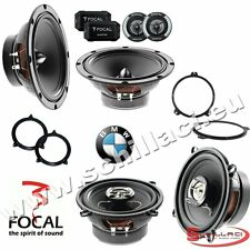 FOCAL 6 speakers kit for BMW serie 3 e46 2002-2006 box + spacer rings adapters