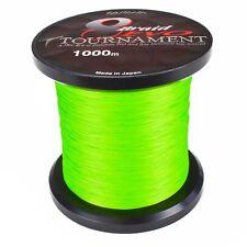 Daiwa Tournament 8 Braid EVO 1000m 0.12mm Chartreuse