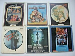 VINTAGE LOT OF 6 RCA SELECTA VISION VIDEO DISCS