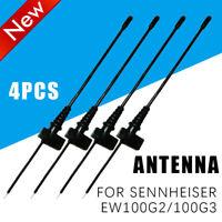 4Pcs Antenna For Sennheiser EW100G2/100G3 Wireless Microphone Bodypack Mic Part