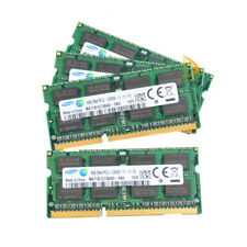 Samsung 4X 8GB 2RX8 PC3L-12800S DDR3 1600MHZ 1.35V SODIMM RAM Laptop Memory 32GB