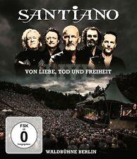SANTIANO - VON LIEBE,TOD UND FREIHEIT-LIVE   BLU-RAY NEU