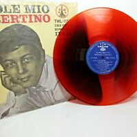 colored LP vinyl Robertino, O Sole Mio, The Great Songs of Italy, record,