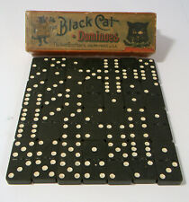 VINTAGE THE BLACK CAT DOMINOES COMPLETE BY PARKER BROTHERS