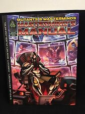 Mutants & Masterminds- Mastermind's Manual- Steve Kenson