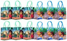 12PCS Go, Diego, Go! Goodie Party Favor Gift Birthday Loot Bags Licensed NEW
