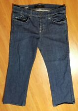 Rock Republic Boot Cut Jeans SZ 38 Stitched Back Pockets Button Fly