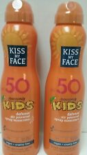 KISS MY FACE OBSESSIVELY KIDS SPRAY SUNSCREEN SPF50 SET OF 2-6oz EXP12/2018-2020