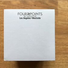 FOUR POINTS by SHERATON notepad office supplies hotel Los Angeles LAX LA rare