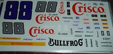 JnJ NASCAR DECALS #88 CRISCO BUDDY BAKER OLDS 1/24 Bullfrog Olds