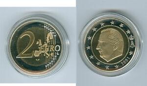 Belgique Pièce de Monnaie Pp / Proof (Choisissez Entre : 1999 - 2018)