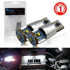 2x W5W T10 194 168 LED Wedge Auto Car Light Interior License Canbus 3SMD CREE